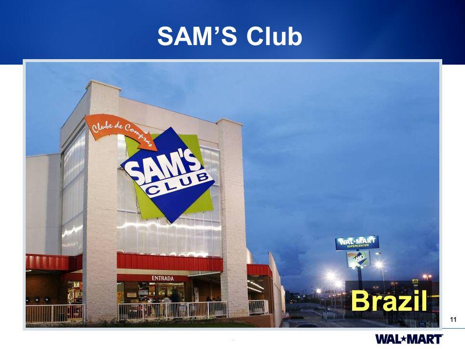 11. SAM'S Club Brazil