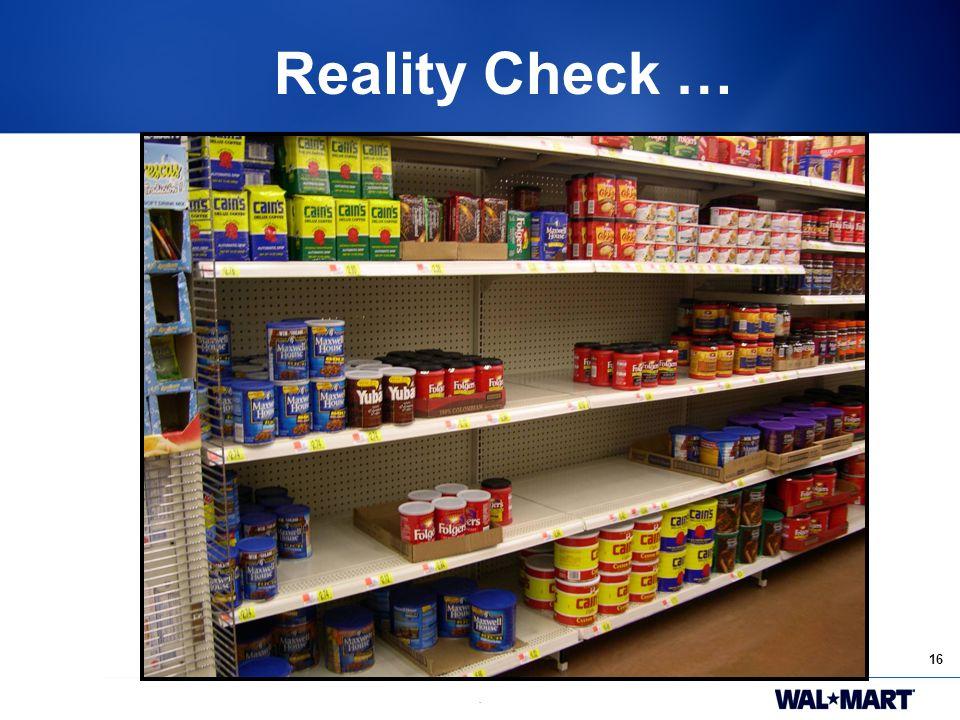 16. Reality Reality Check …