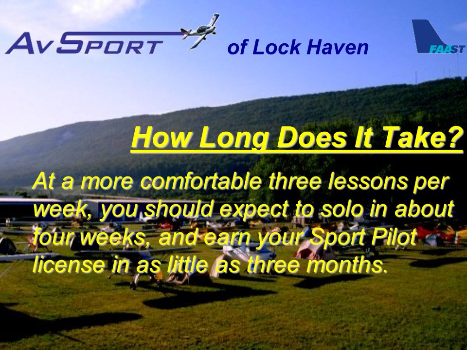 of Lock Haven How Long Does It Take.
