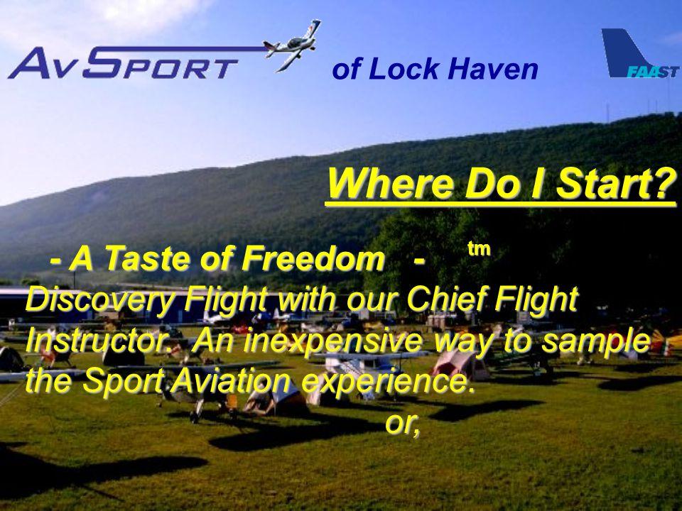 of Lock Haven Where Do I Start.