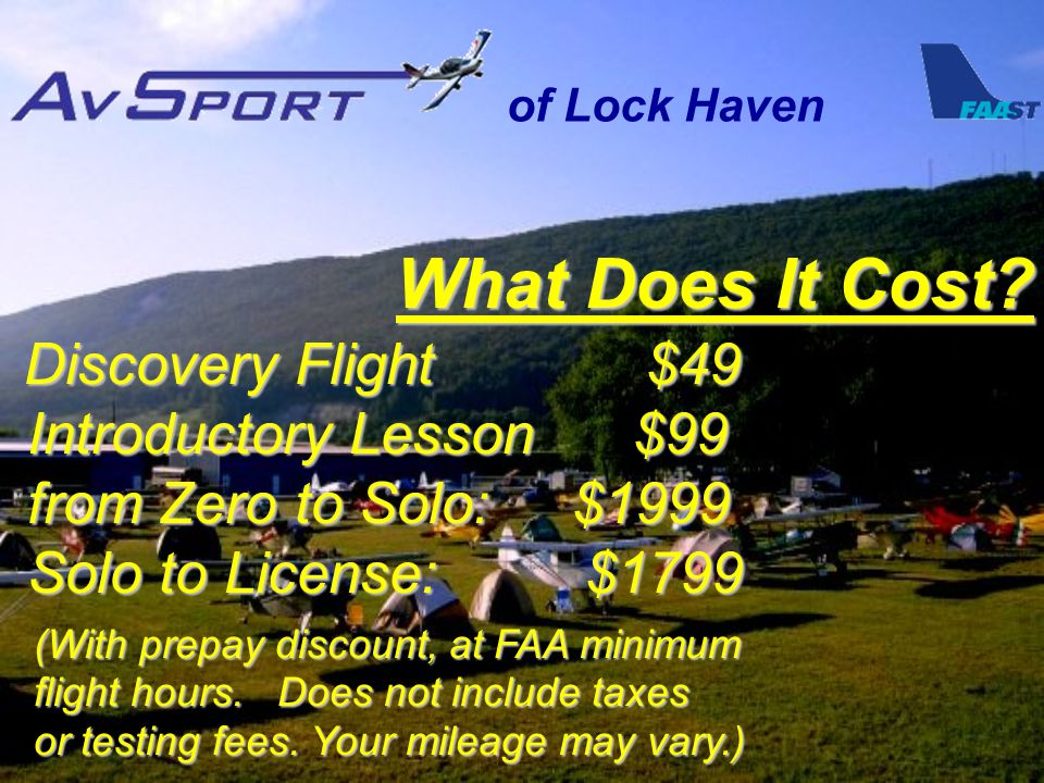 of Lock Haven What Does It Cost.
