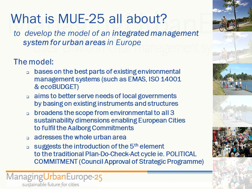 What is MUE-25 all about.