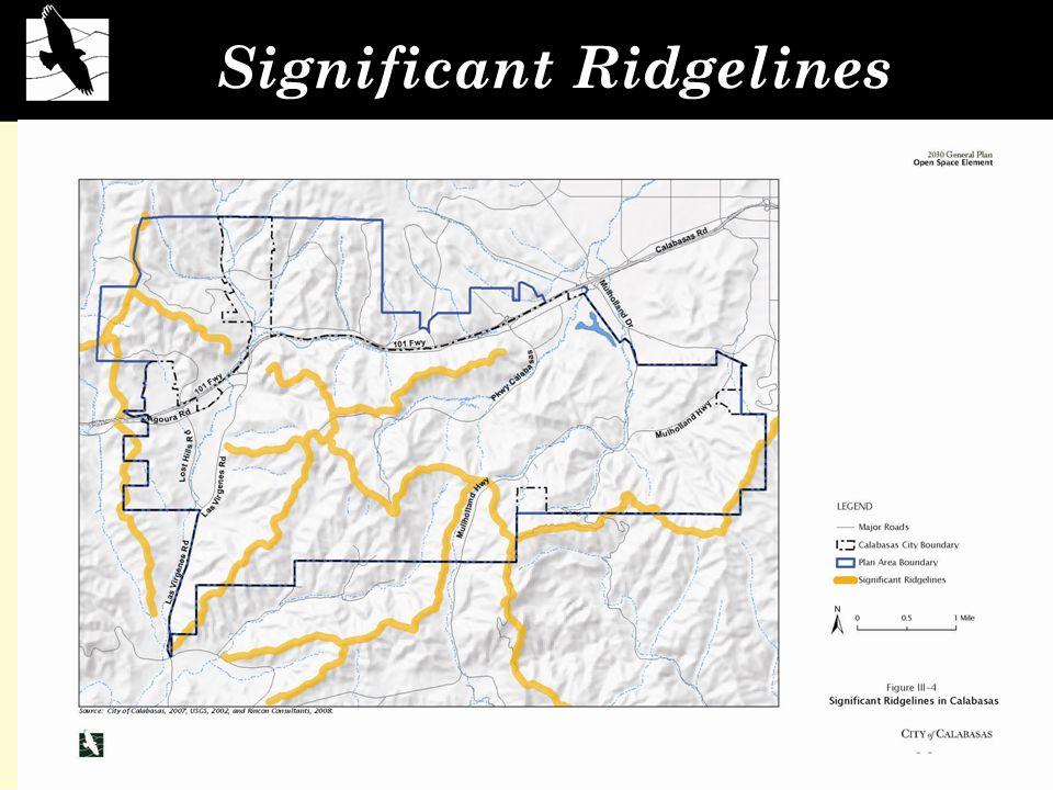 Significant Ridgelines