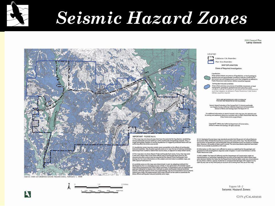 Seismic Hazard Zones