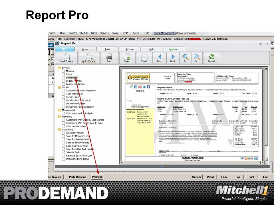 3 Report Pro