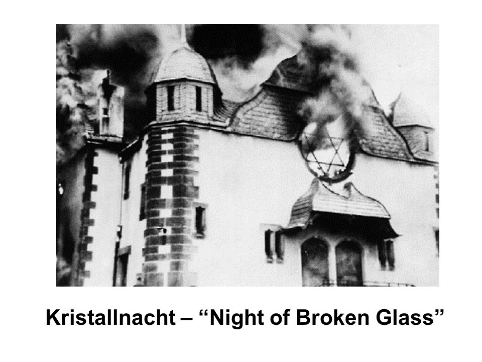 Kristallnacht – Night of Broken Glass