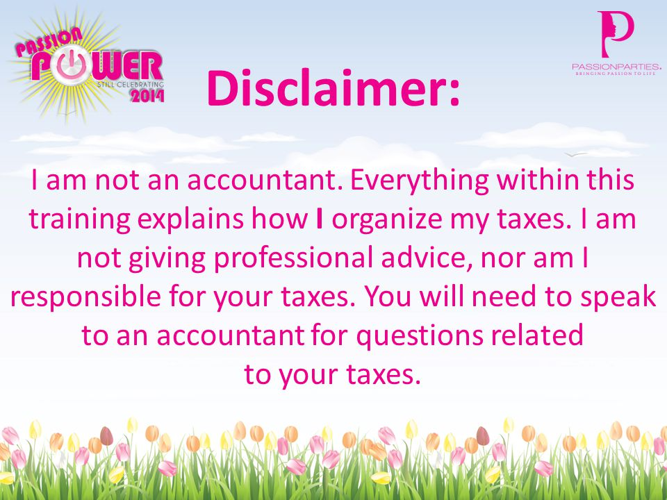 Disclaimer: I am not an accountant.