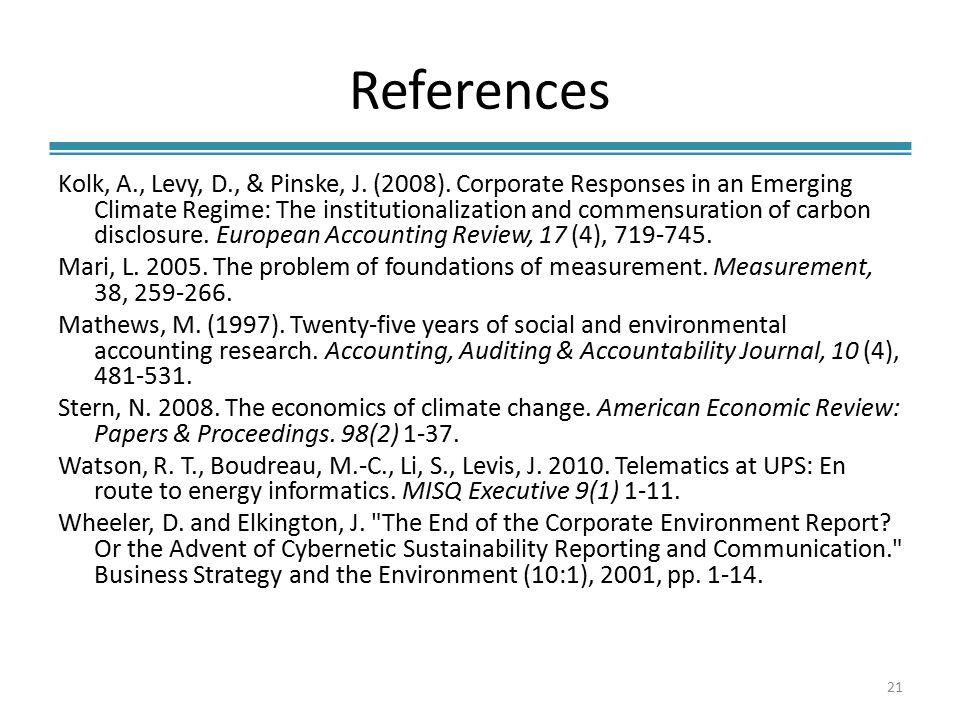 References Kolk, A., Levy, D., & Pinske, J. (2008).