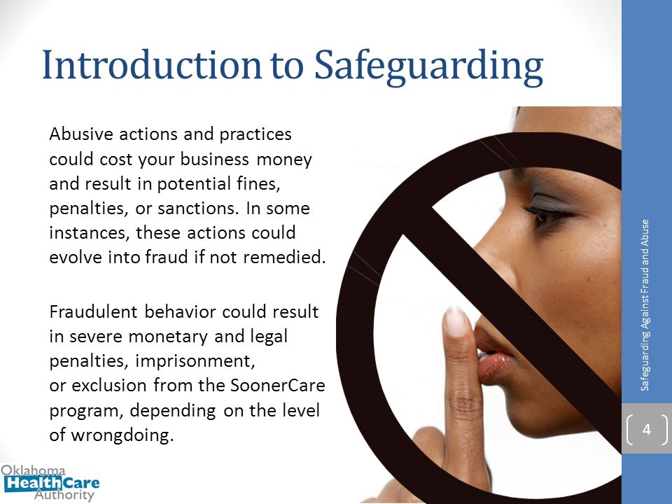 Introduction to Safeguarding Abusive actions and practices could cost your business money and result in potential fines, penalties, or sanctions. In s