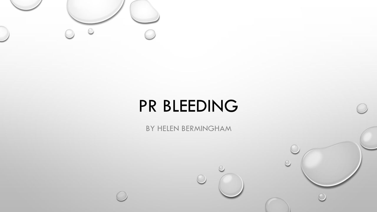 PR BLEEDING BY HELEN BERMINGHAM
