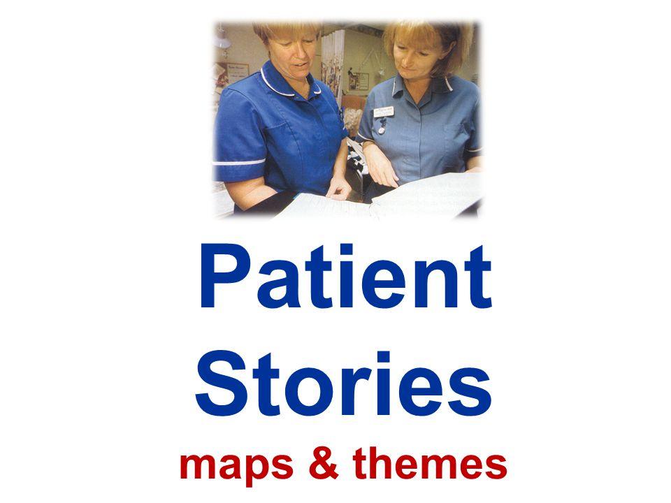 Patient Stories maps & themes