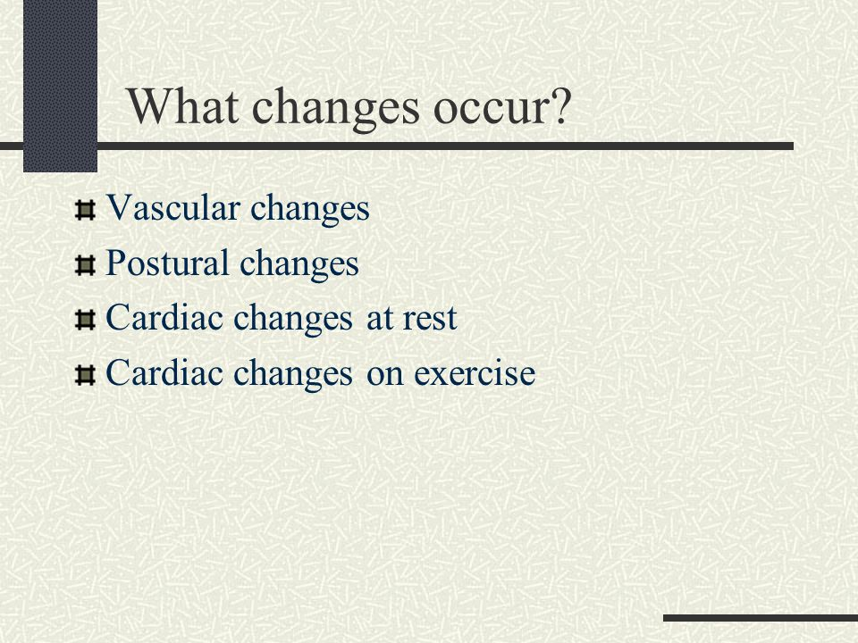 In summary… Ageing does alter the structure and function of the cardiovascular system Changes more evident during exercise These effects may contribute to earlier decompensation when unwell …and remember your erect and supine BPs!