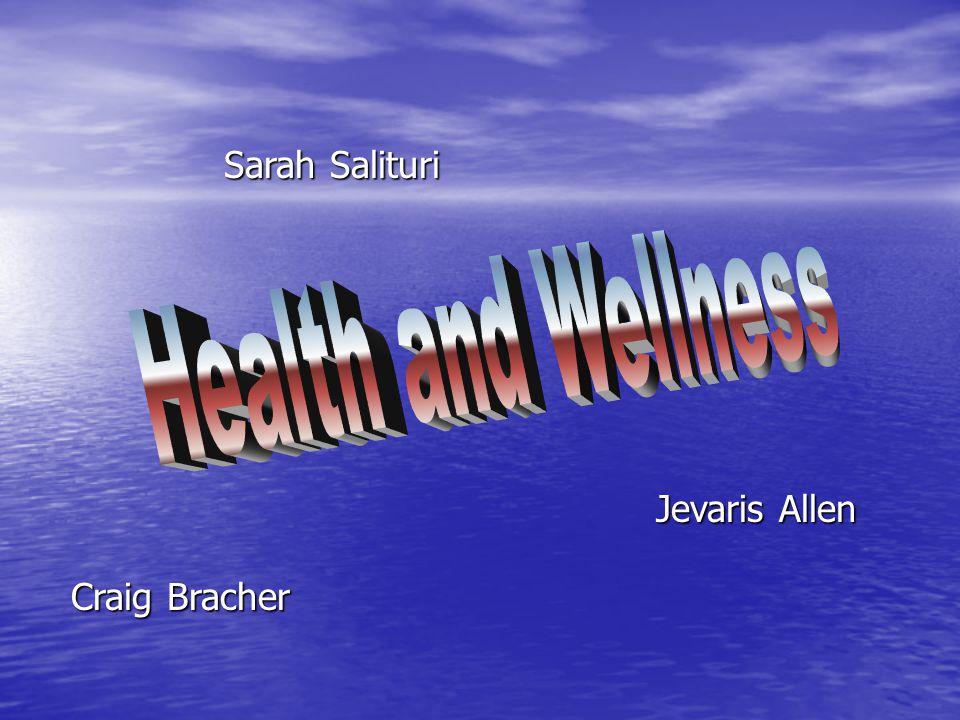 Craig Bracher Sarah Salituri Jevaris Allen