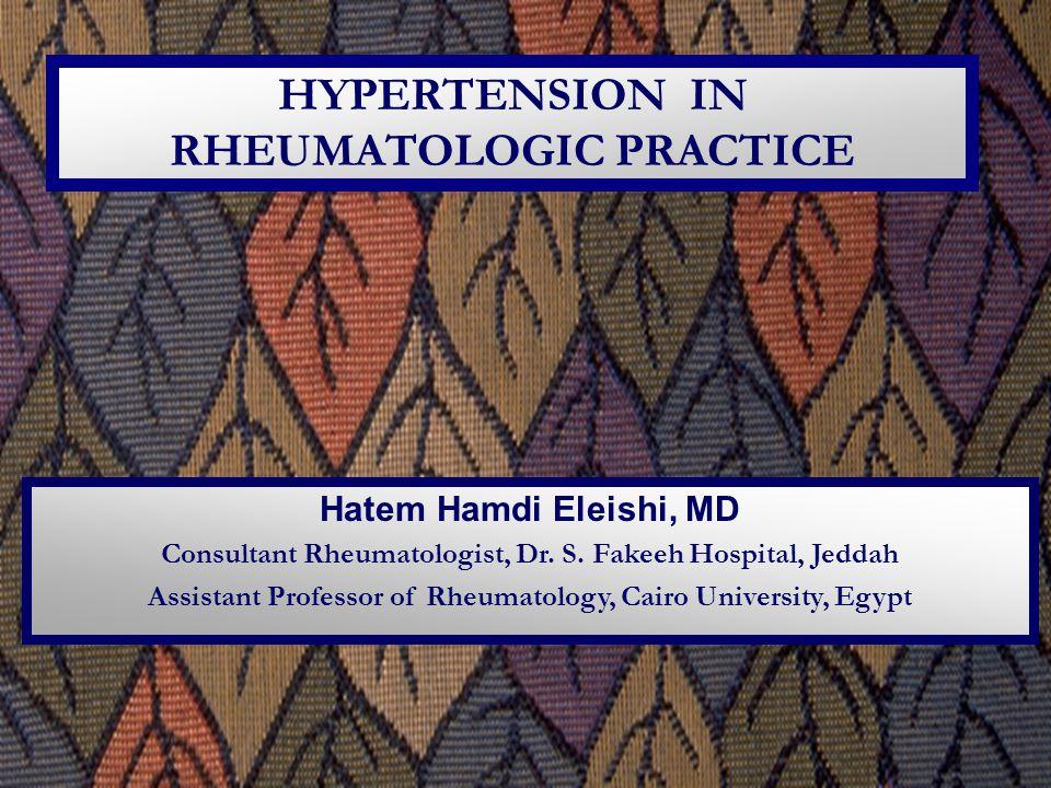 Hatem Hamdi Eleishi, MD Consultant Rheumatologist, Dr.