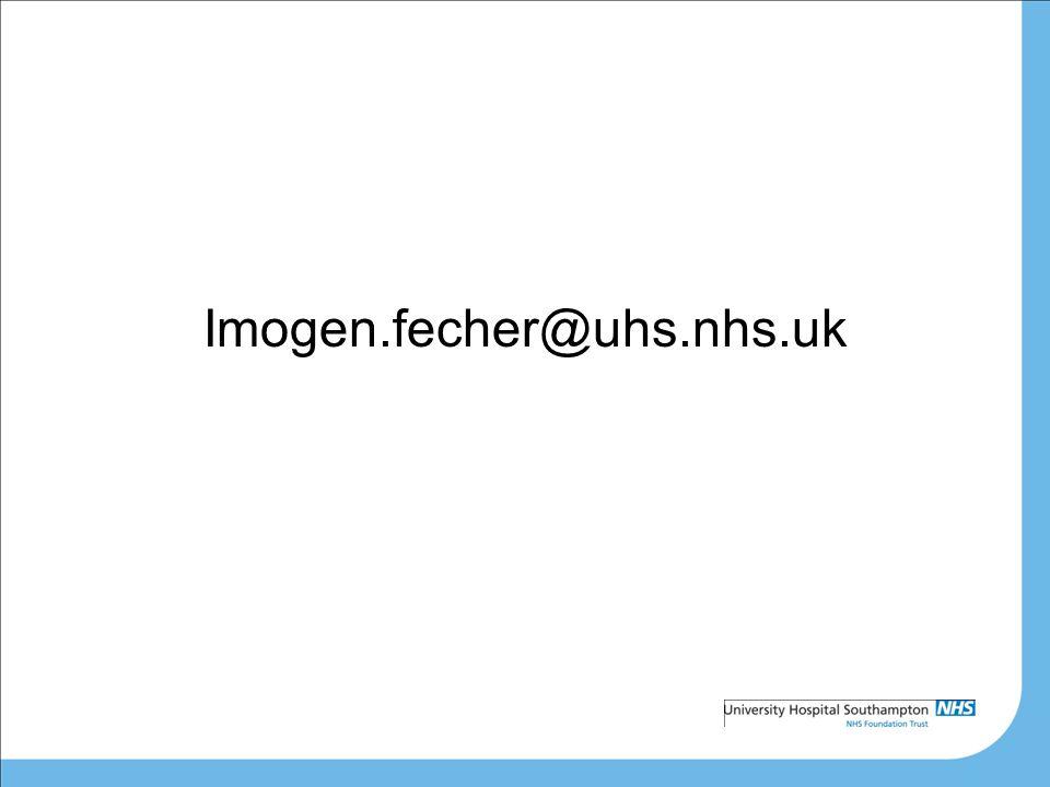 Imogen.fecher@uhs.nhs.uk