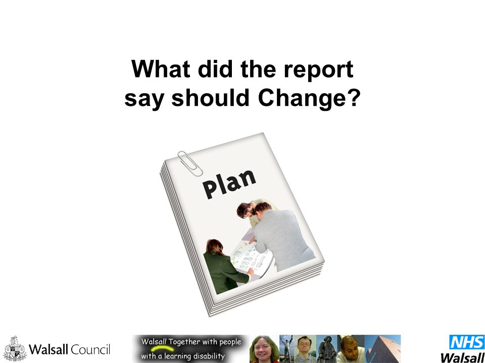 What did the report say should Change
