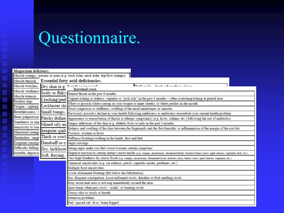 Questionnaire.