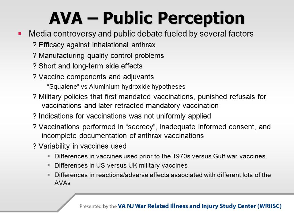 AVA – Public Perception  Media controversy and public debate fueled by several factors .