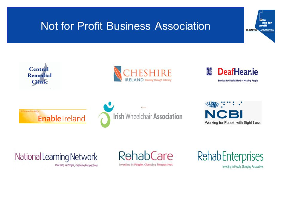 Not for Profit Business Association
