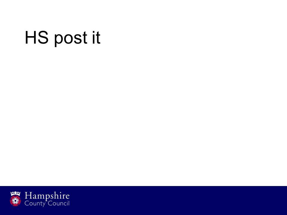 HS post it
