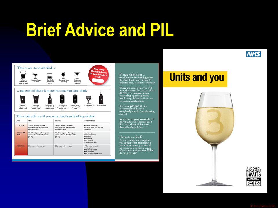 © Bob Patton 2009 Brief Advice and PIL