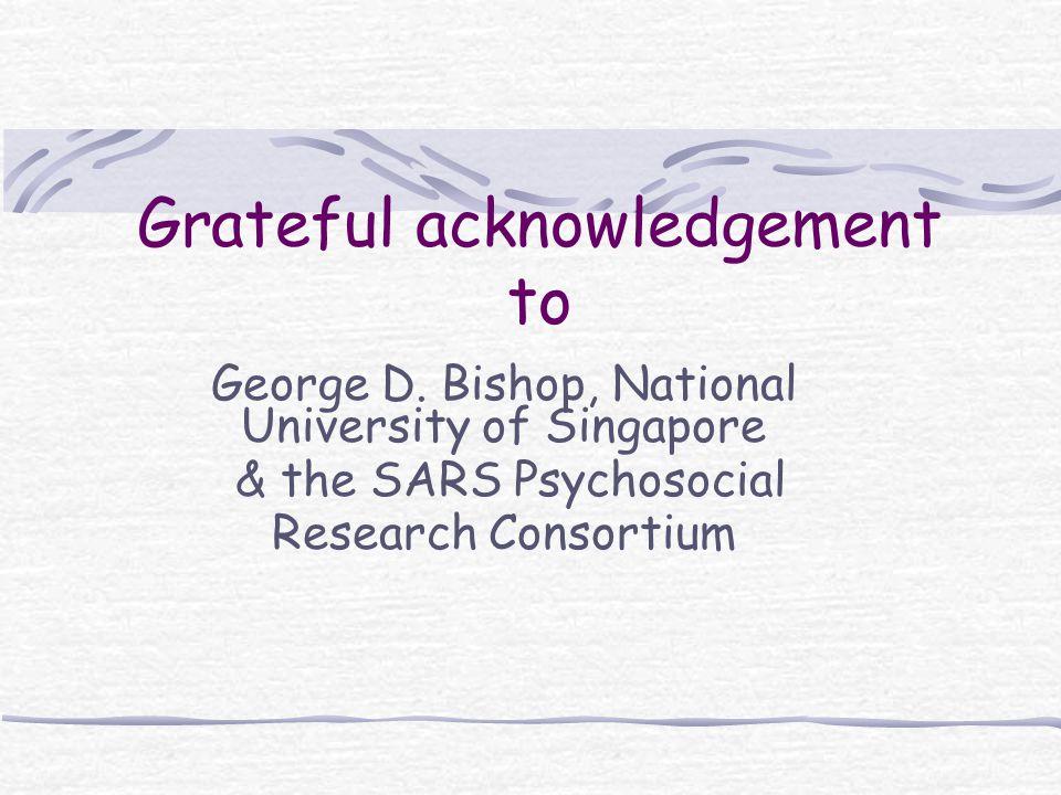 Grateful acknowledgement to George D.