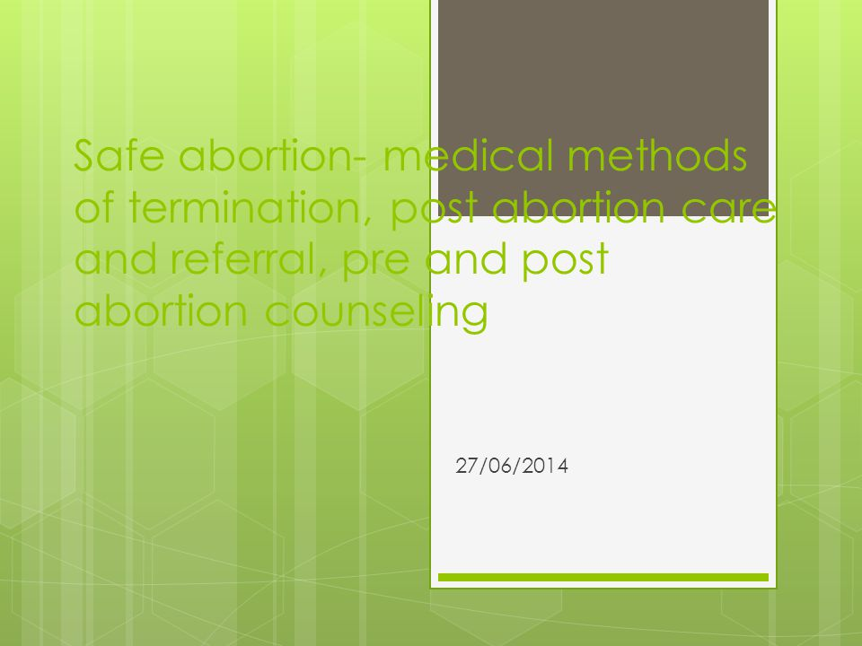 PAC Postabortion care is an approach for reducing deaths and injuries from incomplete and unsafe abortions and their related complications.