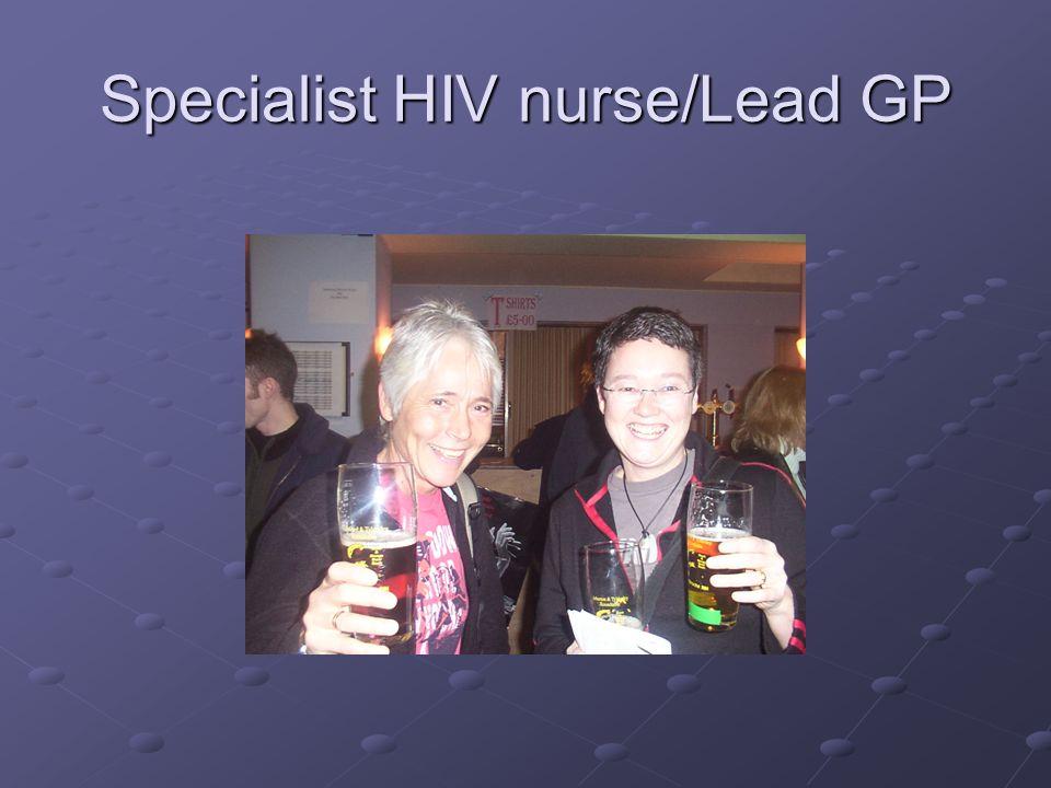 Specialist HIV nurse/Lead GP