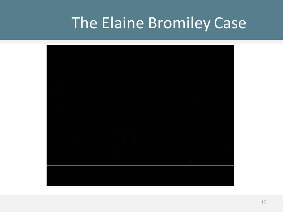 The Elaine Bromiley Case 17