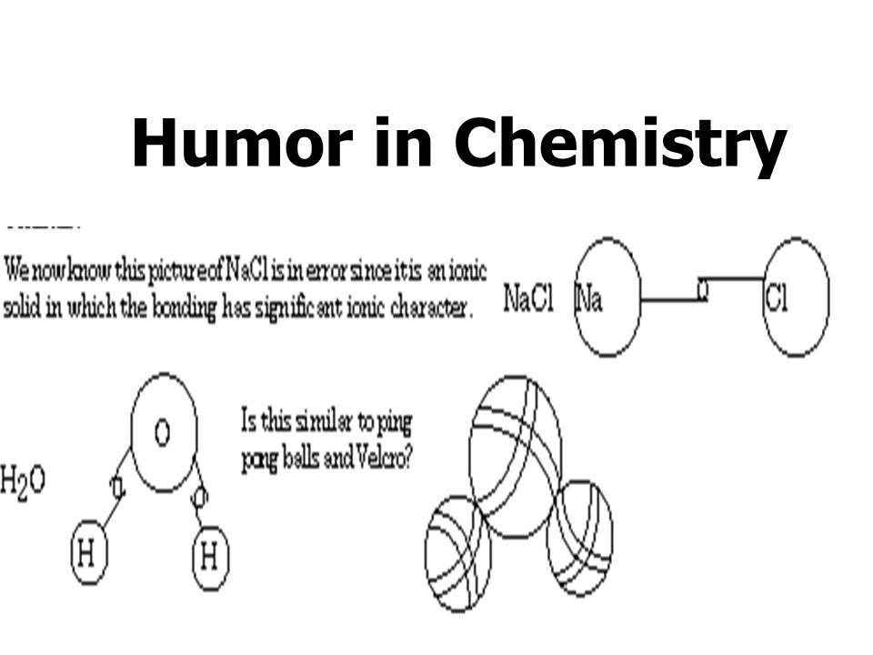 Humor in Chemistry