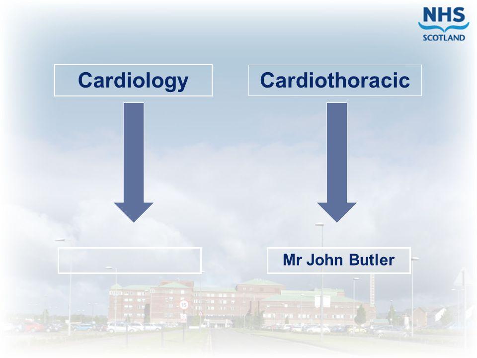 Cardiothoracic Mr John Butler