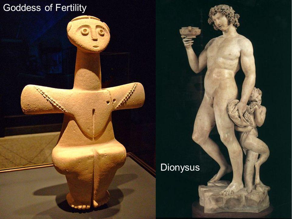 Chalcolithic Fertility Goddess Cyprus 3000-2500 BCE Limestone Goddess of Fertility Dionysus