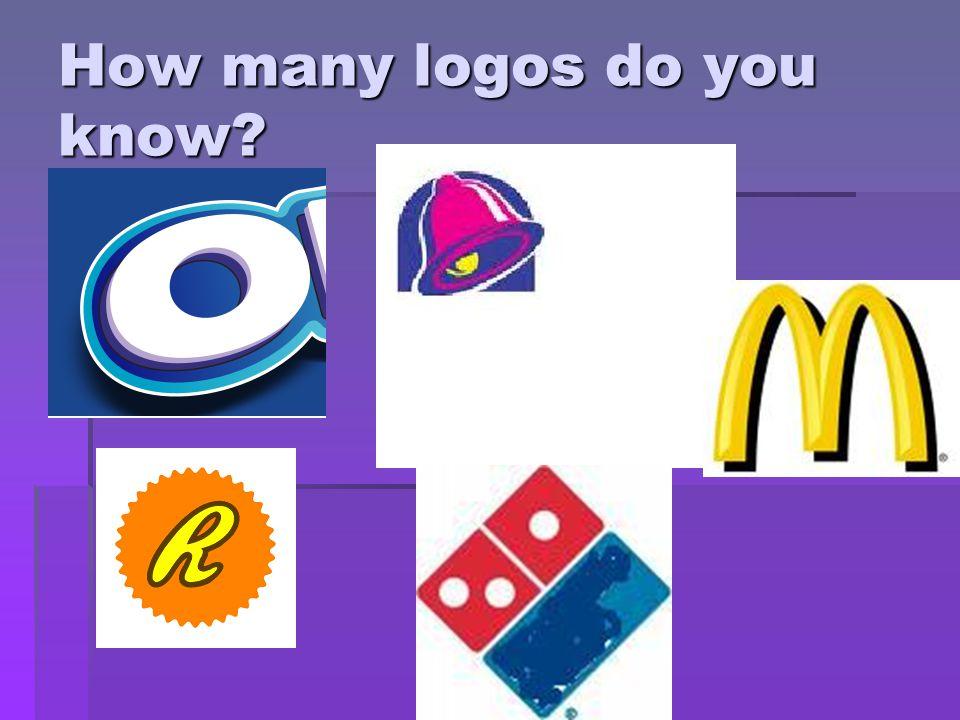 How many logos do you know?