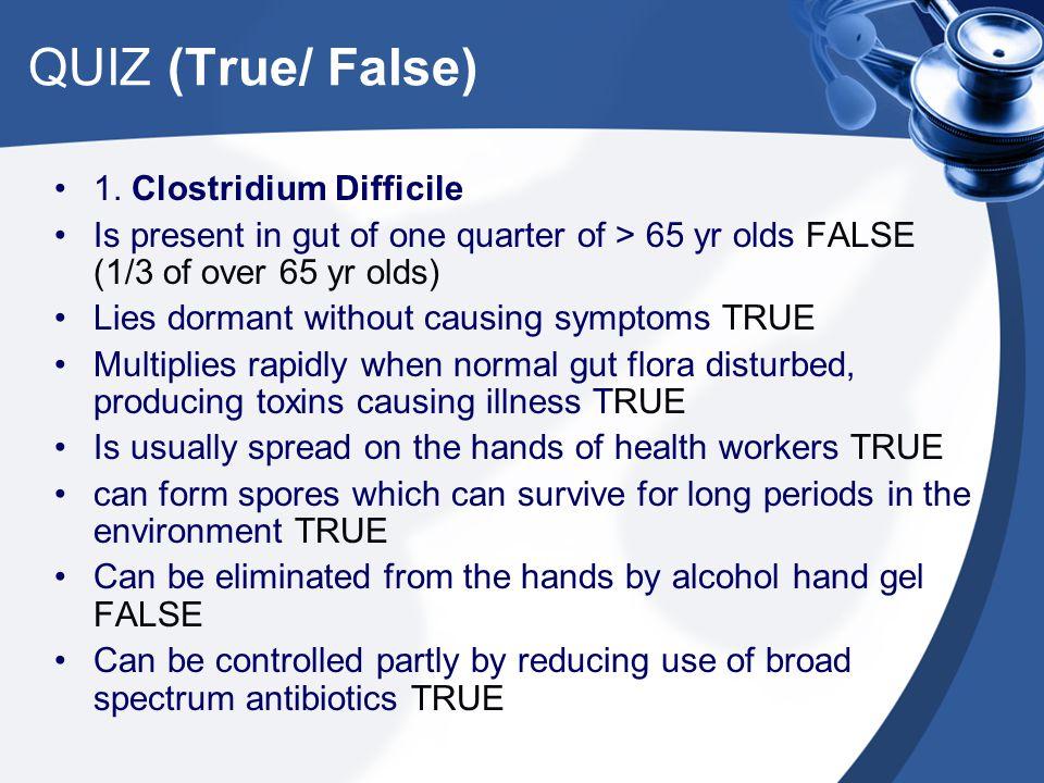 QUIZ (True/ False) 1.