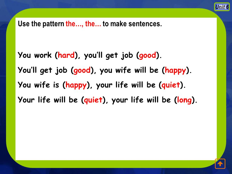 Unit 6 combine each of the following sentences in Column A with one in Column B, using though/ although / even though / even if A 1.