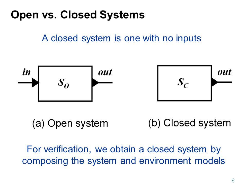 6 Open vs.