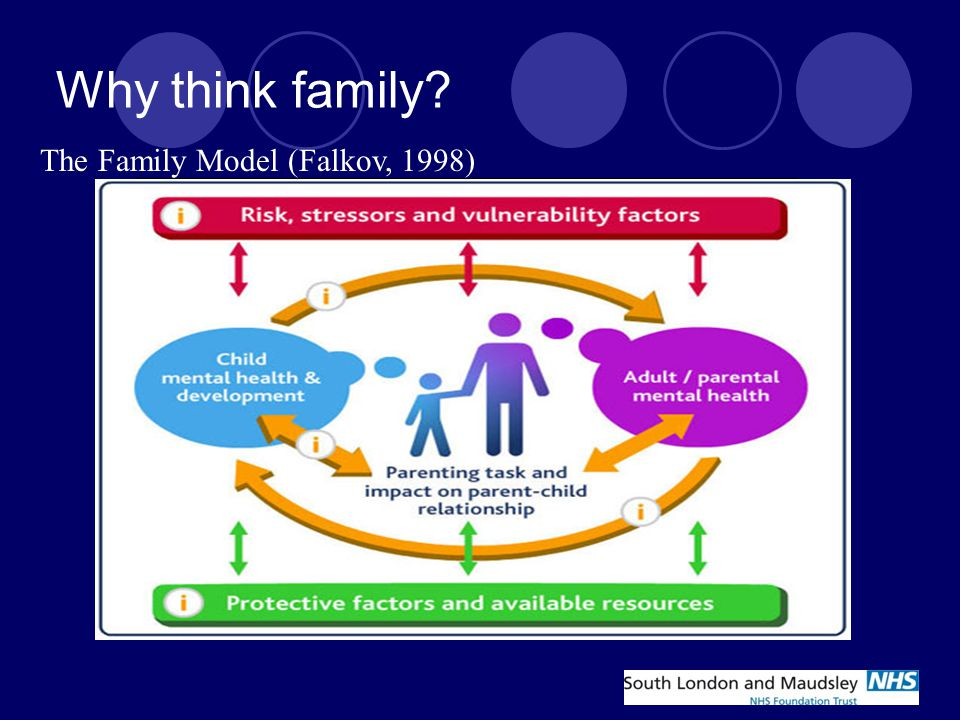Why think family. 3. Parenting and the parent – child relationship 4.