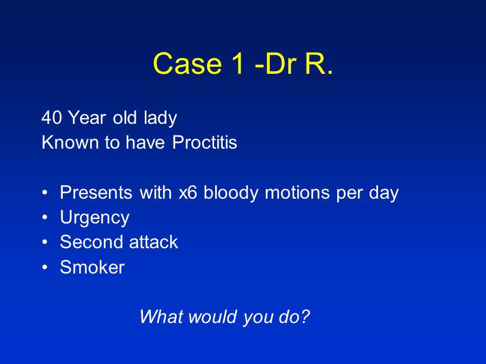 Case 1 -Dr R.