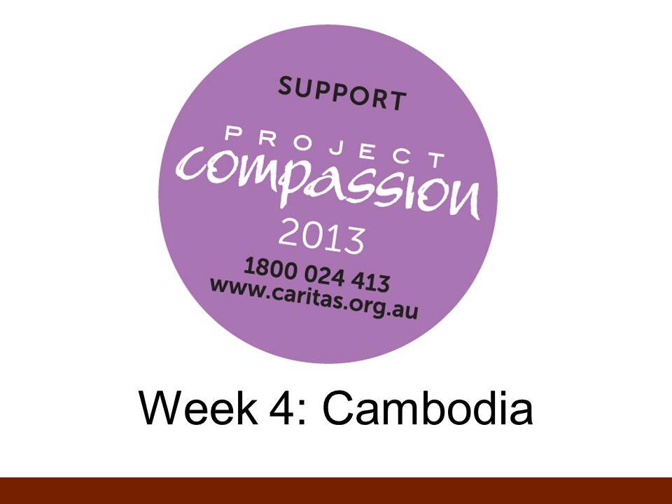 Week 4: Cambodia