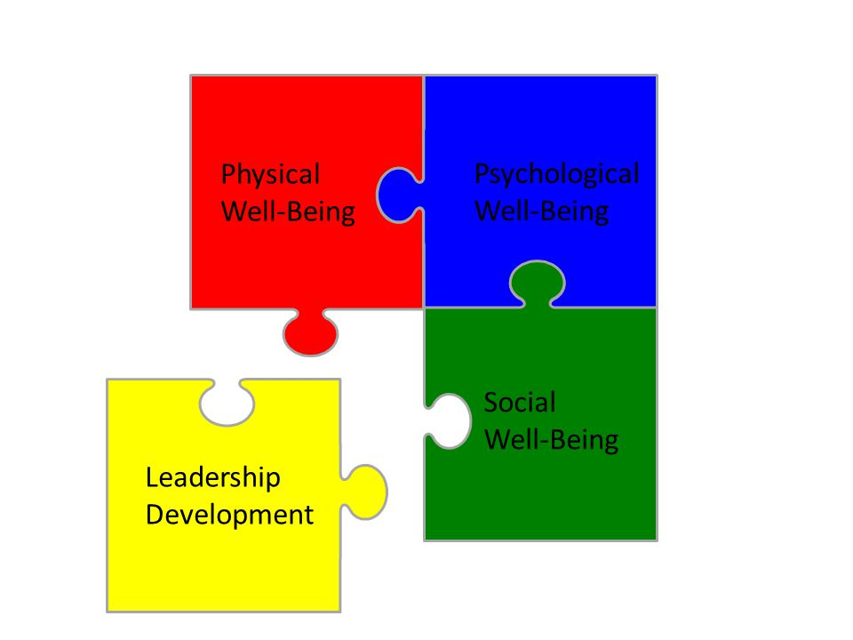 Physical Well-Being Leadership Development Psychological Well-Being Social Well-Being