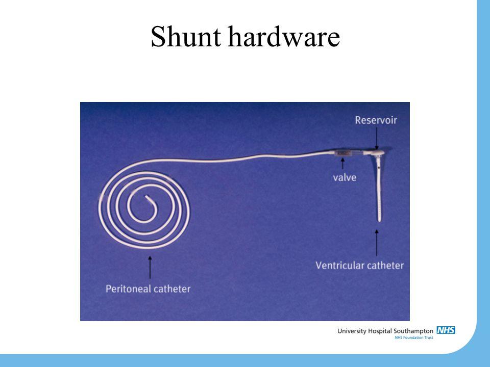 Shunt hardware