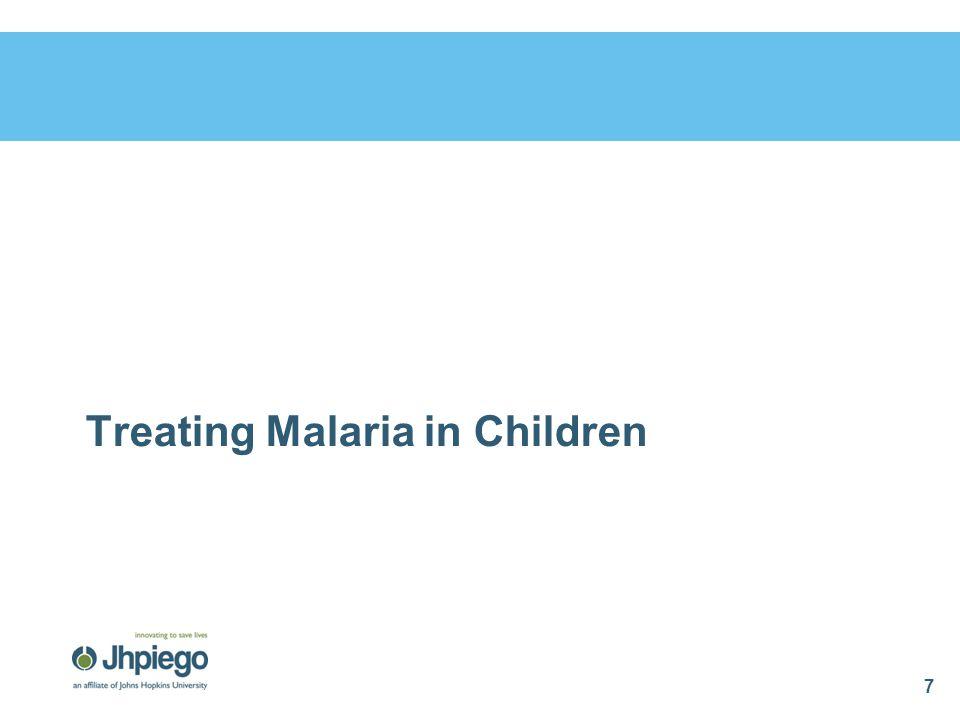Treating Malaria in Pregnancy 28