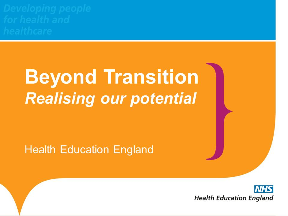 www.hee.nhs.uk www.thamesvalley.hee.nhs.uk HETV Autumn Conference Tuesday 14 October The Oxford Hotel