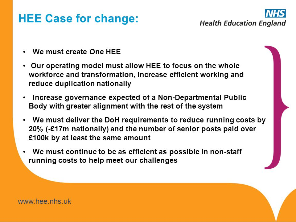 www.hee.nhs.uk www.thamesvalley.hee.nhs.uk Even with greater productivity, primary care workforce needs to expand Need more diverse multiprofessional roles underpinned by excellent clinical skills GPs will continue to play the generalist role yet spend more time overseeing delivery of care by multi-disciplinary teams......