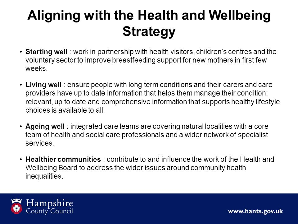 Integration and the wider partnership Managing a changing health and social care market including workforce.