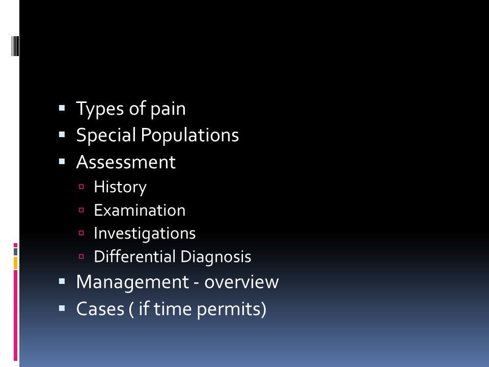 Visceral Parietal Pain Types Of Pain