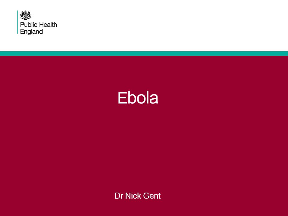 current situation On 23 March 2014, WHO confirmed an outbreak of Ebola virus disease (EVD) in South-eastern Guinea, the first time an outbreak has been identified in this part of Africa - now the largest known outbreak of this disease.