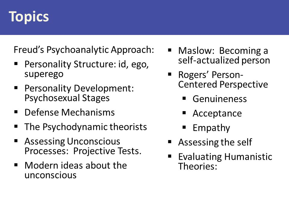 Personality: An individual's characteristic patterns of thoughts, feelings, and behaviors [persisting over time and across situations] Sensitive, Reactive Naïve Agreeable, Open Introverted Neurotically irritable Conscientious Contentedly lethargic