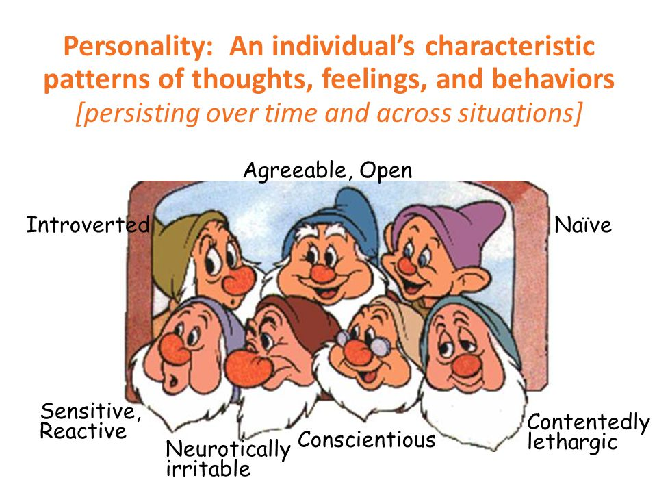  These theories of human personality focus on the inner forces that interact to make us who we are.