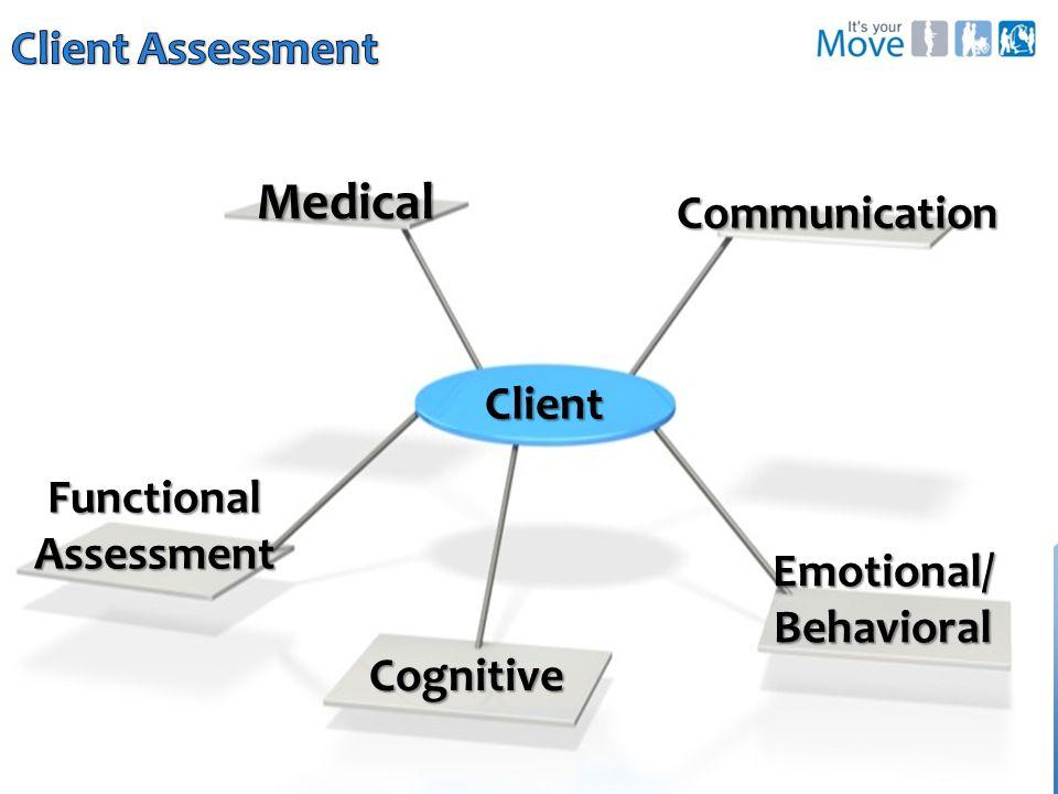 Cognitive Emotional/Behavioral Communication Client Medical
